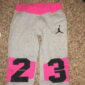 Jordan's sweatpants